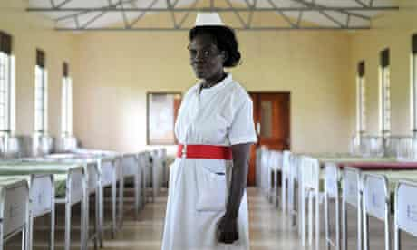 A nurse at Butabika Hospital, Uganda. Part of Strength and Hope: Mental Health in Uganda exhibition