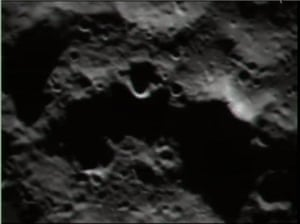LCROSS  : A closer view of the moon as the LCROSS spacecraft approaches impact