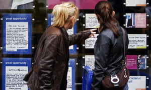Youth unemployment: employment agency in London