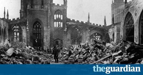 Coventry Blitz Was Destruction Of Medieval Centre Hitler