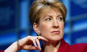 Carly Fiorina, former chief executive of Hewlett-Packard, has announced she is running for US Senate