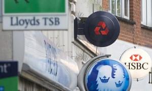 Banks in West London, Britain - 04 Nov 2008