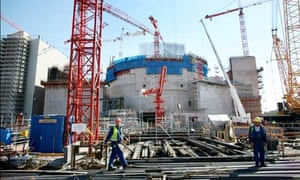 A new nuclear power station and waste management plant under construction in Pori, Finland.