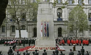 The Cenotaph at Whitehall, London