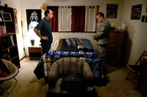 American soldier: At home with father Eric Fisher