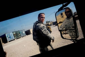 American soldier: Getting geared up for unexpected escort mission