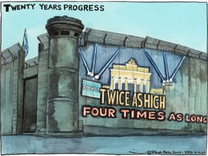 11.11.09: Steve Bell on 20th anniversary of Berlin Wall coming down