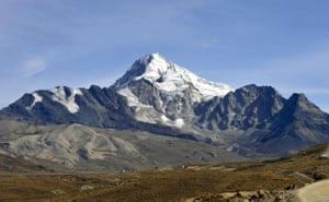 Week in Wildlife: View of the Huayna Potosi from the Chacaltaya mountain, Bolivia