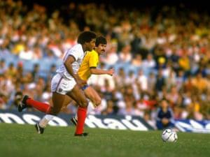 England v Brazil: John Barnes