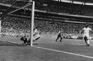 England v Brazil: 1970