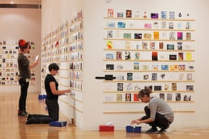 RCA Secret Postcards: RCA Secret Postcards, installation view