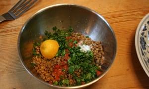 Mix your lentils