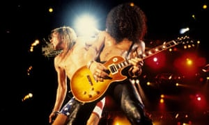Guns N Roses Perform Live At Rock In Rio II - January 15 1991
