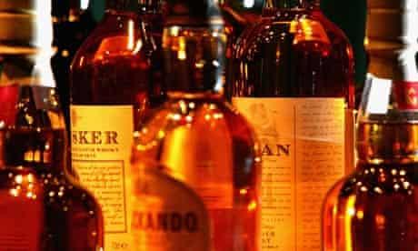 Whisky at Glenkinchie distillery