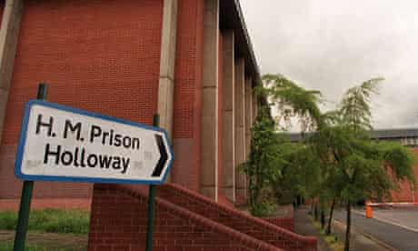 Holloway prison in north London