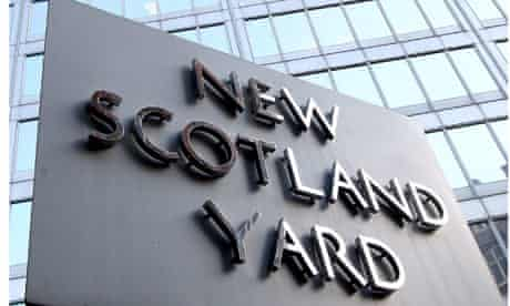 Metropolitan police headquarters at New Scotland Yard