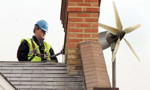David Cameron was forced to have a wind turbine removed from his home in London