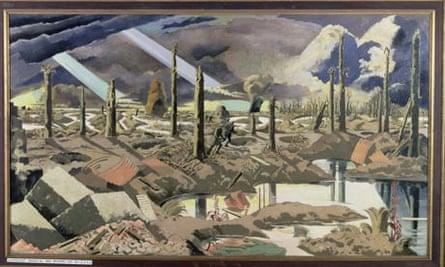 The Menin Road, 1919 by Paul Nash.