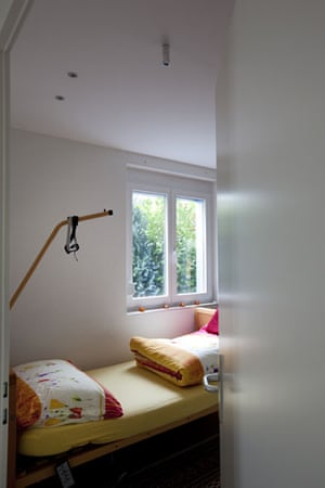 Dignitas: A room where assisted suicides take place
