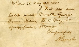 abraham lincoln letter goes up for sale
