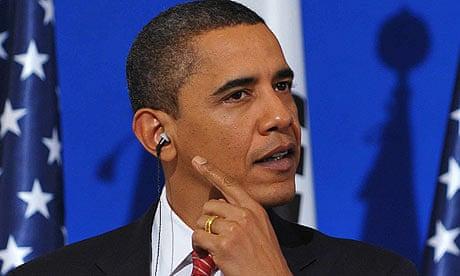 Obamas masters thesis