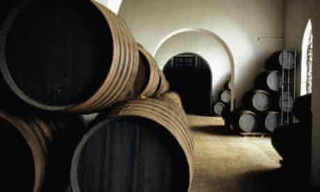 Sherry wine cellar in Andalucia