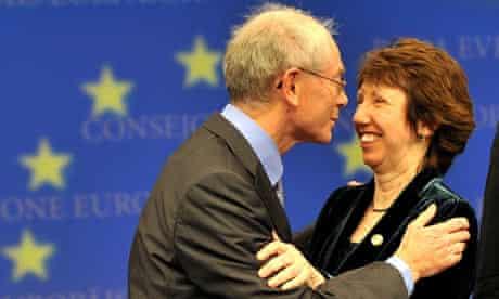 Herman Van Rompuy and Lady Ashton