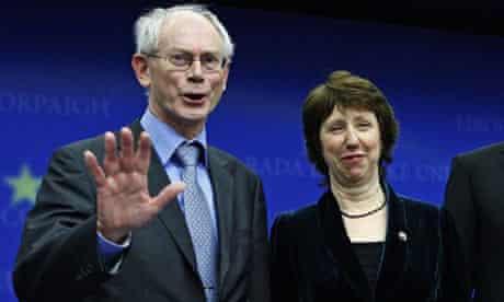 Herman Van Rompuy and Lady Ashton to lead EU Herman Van Rompuy and Lady Ashton chosen to lead EU