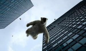 Plane Stupid S Shock Ads Linking Flights With Polar Bear