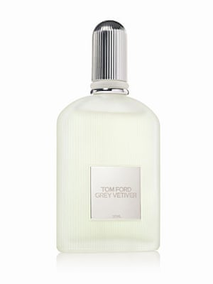 Beauty and grooming: Tom Ford grey vetiver bottle