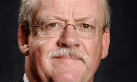 Roger Helmer, a eurosceptic and climate change denier in the European parliament