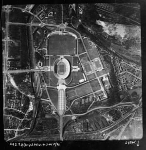 TARA aerial photography: The Olympic Stadium, Berlin, Germany, in 1941