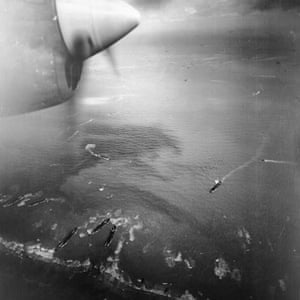 TARA aerial photography: An aerial photograph taken on D-Day, 6 June 1944, of the Allied invasion