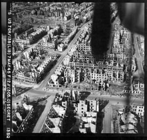 TARA aerial photography: An unidentified urban part of Germany, photographed on 7 May 1945