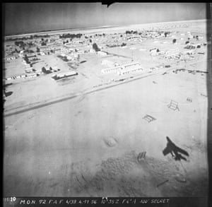 TARA aerial photography: Port Said, Egypt, taken on 17 November 1956 during the Suez Crisis