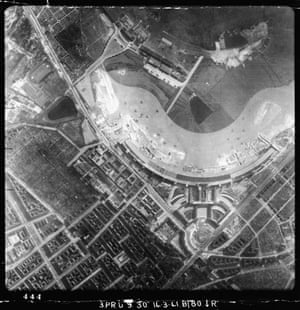 TARA aerial photography: RAF reconnaisance photos of Berlin Tempelhof airport, Germany, in 1941