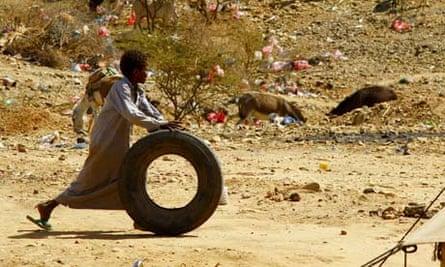 Yemeni refugees