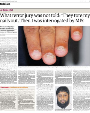 Ian Cobain's torture investigation - Guardian page from 19 December 2008
