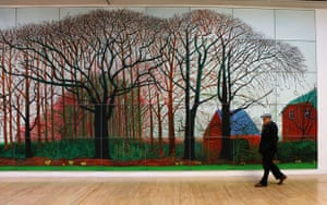 Eyewitness: David Hockney's biggest ever work – Bigger Trees Near Warter (2007)