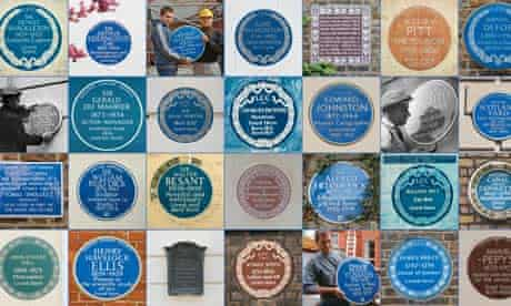 Some of London's blue plaques