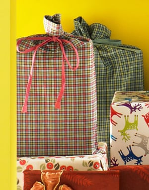 Green Xmas gifts list: Weekend magazine : Organic cotton bag with ribbon