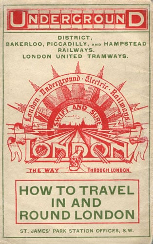 Tunnel Vision A History Of The London Tube Map Art And