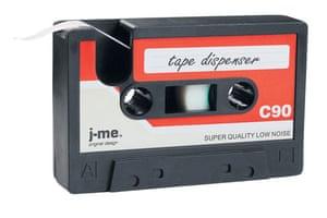 Homeware for under £30: Cassette tape dispenser from DesignMyWorld
