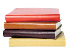 Homeware for under £30: Leather Pisa journals from TheOnlinePenCompany
