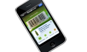 Good Guide barcode scanning app for iPhone