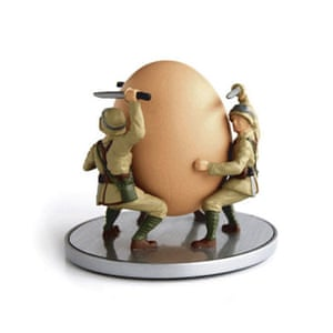 Batchelor pad: Christmas gift guide batchelor: soldier egg cup