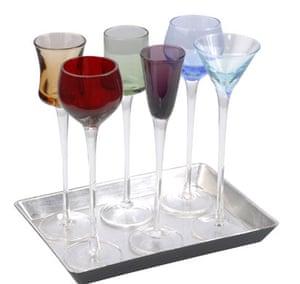 Batchelor pad: Christmas gift guide batchelor: long stemmed glasses