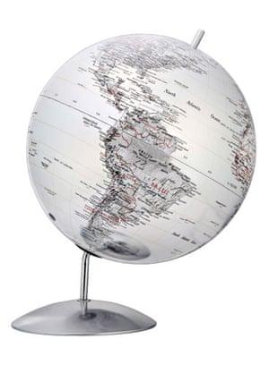 Batchelor pad: Christmas gift guide batchelor: silver globe