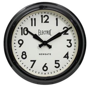 Batchelor pad: Christmas gift guide batchelor: Newgate vintage clock