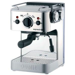 Batchelor pad: Christmas gift guide batchelor: Dualit Espressivo coffee machine